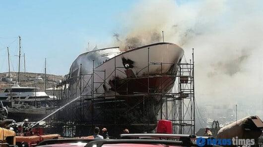 Η επίσημη ανακοίνωση του Αρχηγείου Λιμενικού Σώματος – Ελληνικής Ακτοφυλακής για την χθεσινή πυρκαγιά σκάφους στον Ταρσανά