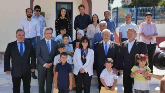 Την Πρόεδρο της Δημοκρατίας υποδέχθηκε ο Γ. Χατζημάρκος σε Αγαθονήσι και Λειψούς