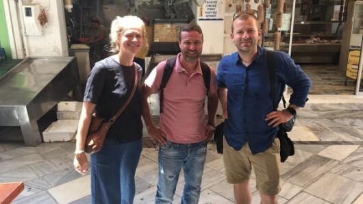 Φιλοξενία Δανών δημοσιογράφων στη Σύρο, στο πλαίσιο της τουριστικής προβολή του νησιού