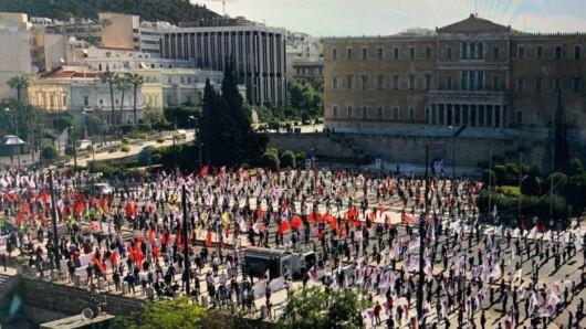 Κεντρική Επιτροπή του ΚΚΕ: «Να αποσυρθεί τώρα το κατάπτυστο νομοσχέδιο για τις διαδηλώσεις»