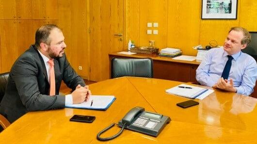 Στον Υπουργό Υποδομών και Μεταφορών ο Φίλιππος Φόρτωμας