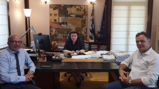 Επίσκεψη της Υπουργού Πολιτισμού στη Σύρο εντός του Ιουλίου