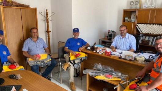Δωρεά επινώτιων πυροσβεστήρων της Περιφέρειας Νοτίου Αιγαίου στην Εθελοντική Ομάδα Πολιτικής Προστασίας Δήμου Νάξου & Μικρών Κυκλάδων
