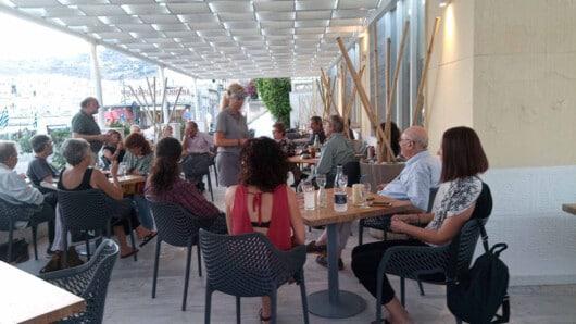 Εξόρμηση για το πρόγραμμα του ΣΥΡΙΖΑ «Μένουμε Όρθιοι» και περιοδεία Συρμαλένιου στη Σύρο
