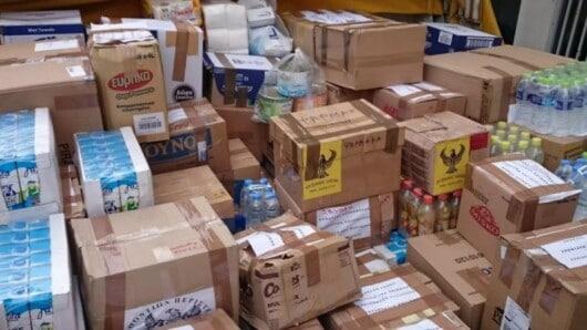 Νάξος: Διανομή προϊόντων Τ.Ε.Β.Α. στους δικαιούχους