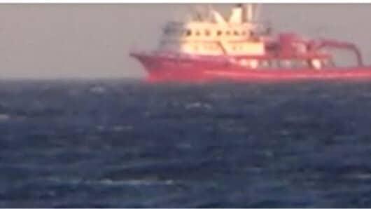 Τουρκικά αλιευτικά έξω από τις ακτές της Μυκόνου (video)