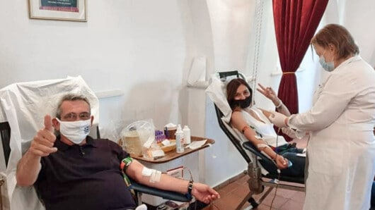 Με μεγάλη συμμετοχή η 52η αιμοδοσία του Συλλόγου Φιλωτιτών – Χατζημάρκος και Κατσάνη μεταξύ των αιμοδοτών