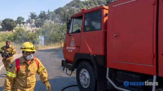 Φωτιά σε ξενοδοχείο στη Σαντορίνη: Νεκρός ο ιδιοκτήτης