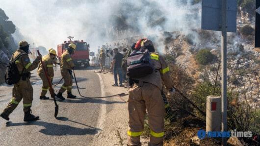 Μεγάλη πυρκαγιά στο Σκαδό – 2.000 στρέμματα έγιναν στάχτη (video+φώτος)
