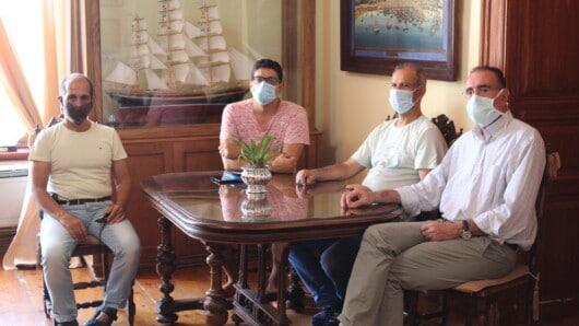 Η συνέχιση της εφαρμογής των υγειονομικών πρωτοκόλλων στο επίκεντρο συνάντησης του Δημάρχου Σύρου-Ερμούπολης με εκπροσώπους των επαγγελματιών