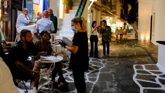 Κορωνοϊός: 14 πρόστιμα χθες στο Νότιο Αιγαίο για μη χρήση μάσκας και μη τήρηση προβλεπόμενης απόστασης