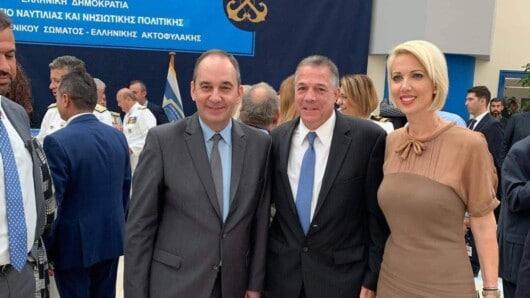Κ. Μονογυιού: Επιτυχημένη επίσκεψη του Υπουργού Ναυτιλίας στην Πάρο και στην Αντίπαρο