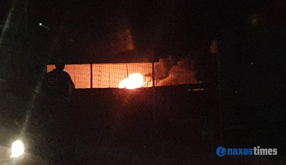 φωτιά σε επιχείρηση ανακύκλωσης