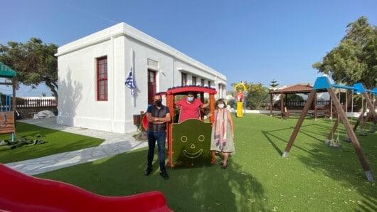 Ανοίγουν αύριο οι ανακαινισμένοι παιδικοί σταθμοί του Δήμου Μυκόνου