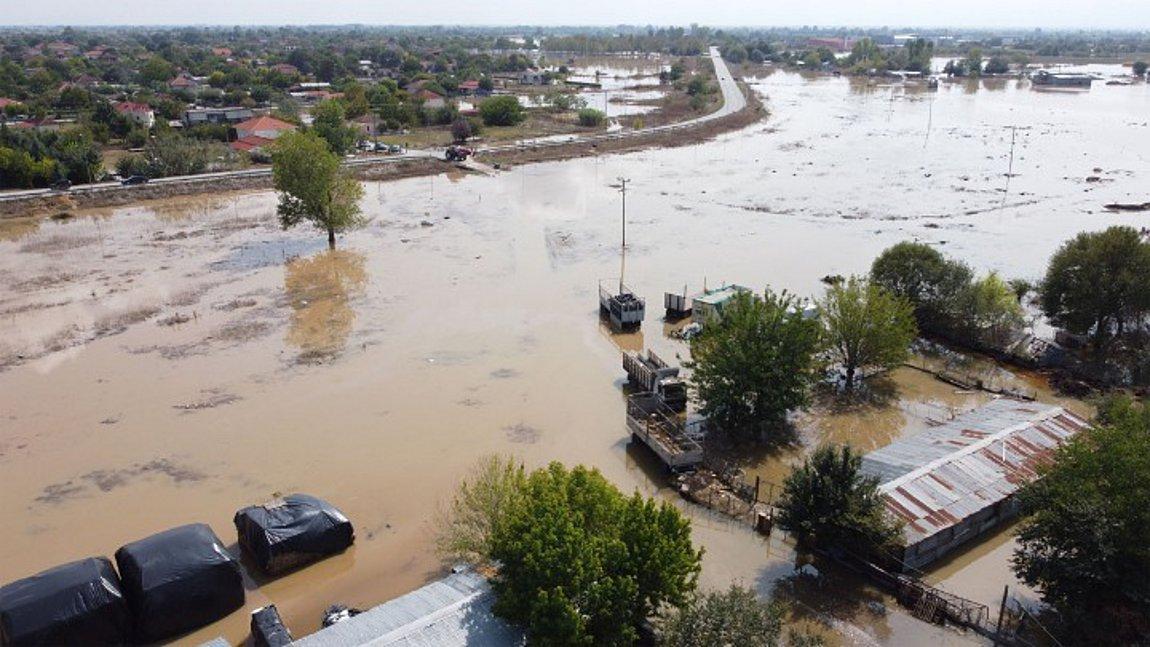 πλημμύρες στην Καρδίτσα