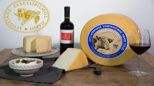 Διαγωνισμός με δώρο 2 κιβώτια κρασί και μοναδικά τυροκομικά προϊόντα