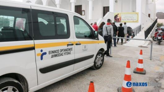 ΕΟΔΥ: Δωρεάν έλεγχοι για Covid-19 στη Νάξο