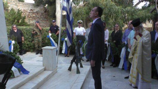 Μήνυμα Δημάρχου Σύρου-Ερμούπολης για την Εθνική Επέτειο της 28ης Οκτωβρίου