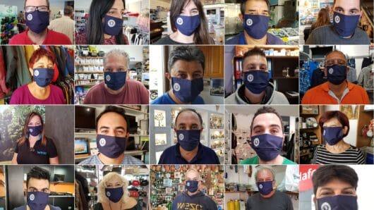 Μήνυμα υπευθυνότητας από τον Εμποροεπαγγελματικό Σύλλογο Νάξου: Μοίρασε μάσκες στα μέλη του