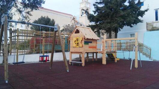 Σύρος: Στη διάθεση του κοινού από αύριο η παιδική χαρά στον Γαλησσά