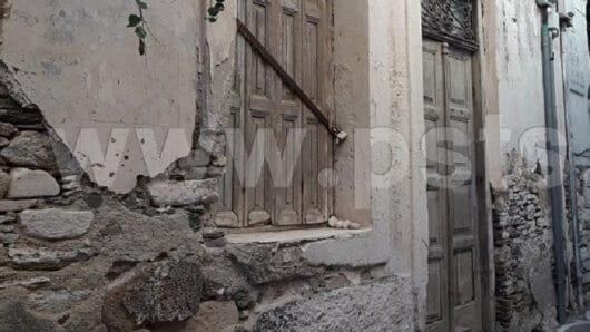 Κίνδυνος και στην Πάρο από «παγίδες» ετοιμόρροπων κτηρίων
