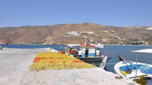 Προμήθεια καυσίμων: Τέλος στην ταλαιπωρία για τους αλιείς της Αμοργού