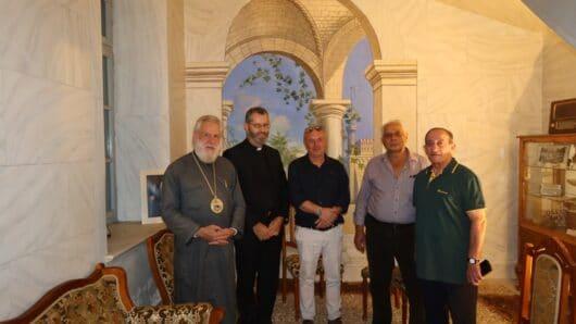 Στους συνταξιούχους ΙΚΑ ευχήθηκε ο Μητροπολίτης Σύρου