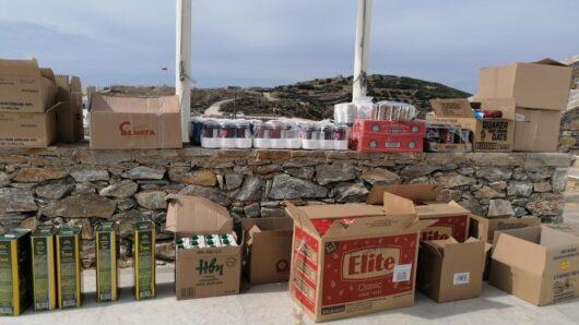 Δήμος Αμοργού: Διάθεση τροφίμων από το Ίδρυμα Σταύρος Νιάρχος