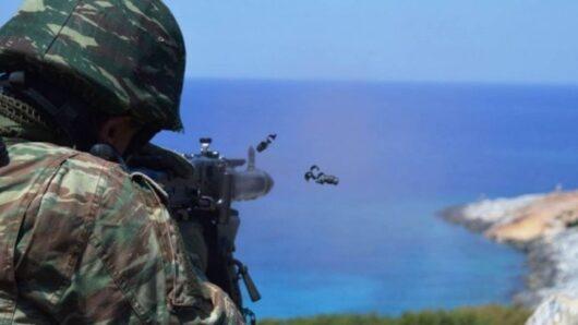 Τάγμα Εθνοφυλακής Ερμούπολης: Αναβλήθηκε η διεξαγωγή βολής στη Μουτσούνα Νάξου