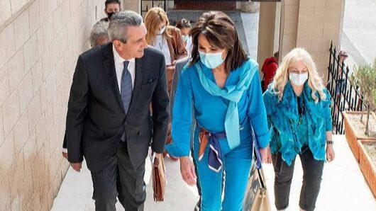 Στη Ρόδο η Πρόεδρος του «Ελλάδα 2021» Γιάννα Αγγελοπούλου – Συνάντηση με τον Περιφερειάρχη και τοπικούς φορείς