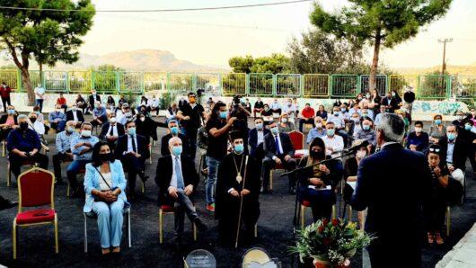 Στις εκδηλώσεις μνήμης και τιμής για τον αείμνηστο Δ. Κρεμαστινό στον Αρχάγγελο ο Γιώργος Χατζημάρκος