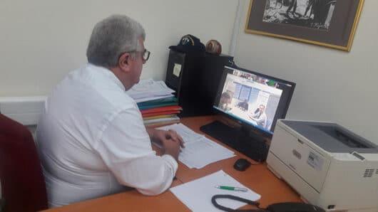 Σε τηλεδιάσκεψη για την ταχύτερη ολοκλήρωση του προγράμματος Αγροτικής Ανάπτυξης ο Φιλήμονας Ζαννετίδης