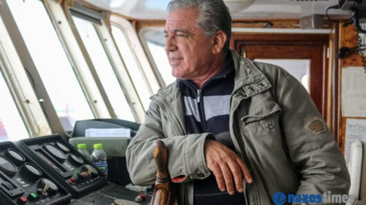 VIDEO: Ο καπετάνιος του θρυλικού «Σκοπελίτη» στο naxostimes.gr: «Η προσφορά στην κοινωνία προσφέρει ψυχική ικανοποίηση»
