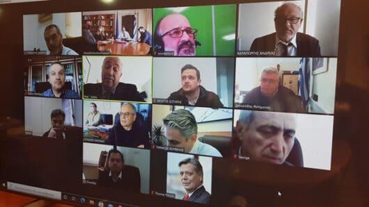 Τηλεδιάσκεψη γνωριμίας του νέου Υπουργού Αγροτικής Ανάπτυξης με αρμόδιους Αντιπεριφερειάρχες – Τι ανέφερε ο Φ. Ζαννετίδης