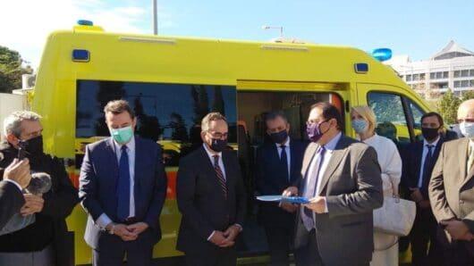 Σημαντικές επαφές για τον δήμαρχο Αμοργού στην επίσκεψή του στην Αθήνα