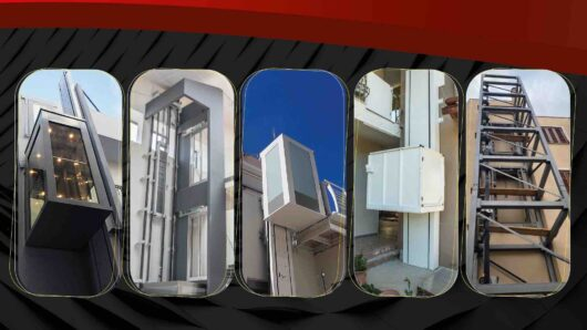Εγκατάσταση εξωτερικού ασανσέρ – LIFTEK Ανελκυστήρες Κυκλάδων