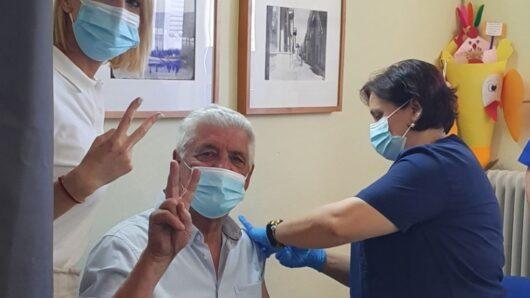 Επίσκεψη της Κατερίνας Μονογυιού στο Κέντρο Υγείας Μυκόνου