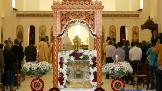 VIDEO: Με λαμπρότητα, παρά τις ειδικές συνθήκες, η γιορτή της Παναγίας Αργοκοιλιώτισσας στη Νάξο (φώτος)