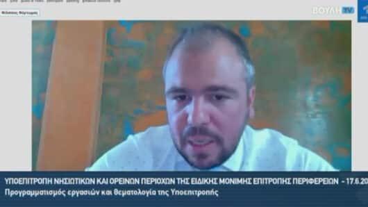 Φ. Φόρτωμας: «Προτεραιότητά μας η ενίσχυση της νησιωτικής επιχειρηματικότητας» – Αντιπαράθεση με Συρμαλένιο για τον μειωμένο ΦΠΑ