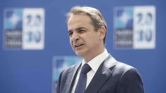 Ο Κυριάκος Μητσοτάκης από τη Σύνοδο Κορυφής του ΝΑΤΟ: «Η Ελλάδα αποτελεί πυλώνα σταθερότητας στη ΝΑ Μεσόγειο»