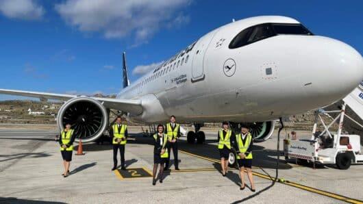 Περισσότεροι από 45.000 οι επιβάτες εξωτερικού στα αεροδρόμια Σαντορίνης και Μυκόνου το πρώτο 15μερο του Ιουνίου