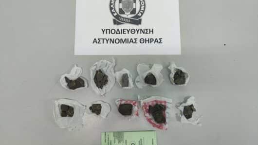 Σαντορίνη: Σύλληψη αλλοδαπού για διακίνηση ναρκωτικών ουσιών