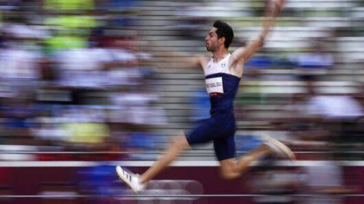 «Χρυσός» ο Μίλτος Τεντόγλου στο μήκος με απίθανο άλμα στα 8,41