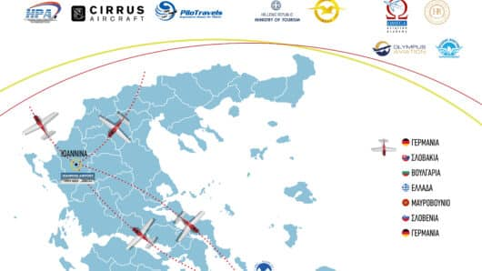 «Πέρασμα» του European Cirrus Rally 2021 από τη Σύρο