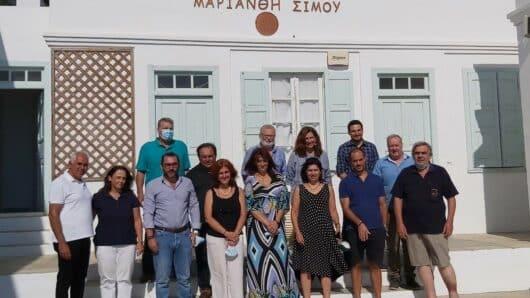 Από τη Σίφνο ξεκίνησε η Πράξη «Μετάλλων Τόποι-Σταυροδρόμια πολιτισμού στην Ανατολική Μεσόγειο»