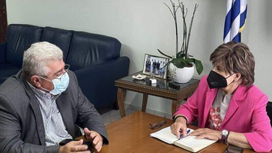 Επίσκεψη Ζαννετίδη στο Υπουργείο Αγροτικής Ανάπτυξης – Τι ζήτησε από τους Γενικούς Γραμματείς